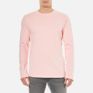 Edwin Men's Terry Long Sleeve Top - Pink