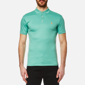Polo Shirt Ralph Lauren Men's Pima Cotton Slim Fit Polo Shirt - Green