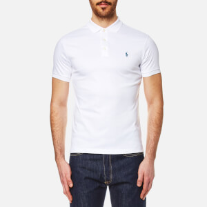 Polo Ralph Lauren Men's Pima Cotton Slim Fit Polo Shirt - White