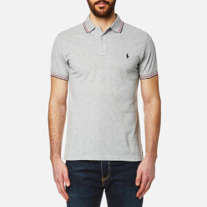 Polo Ralph Lauren Men's Tipped Polo Shirt - Grey