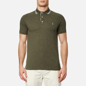 Polo Ralph Lauren Men's Custom Fit Tipped Polo Shirt - Green
