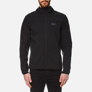 Jack Wolfskin Men's Northern Point Softshell Jacket - Black