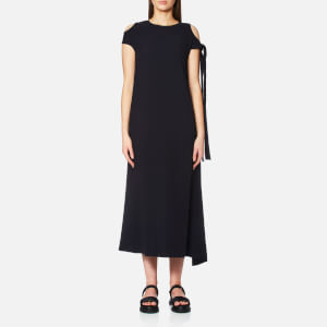 Helmut Lang Women's Sleeve Tie Dress - Navy