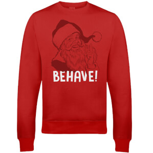 Pull de Noël Homme Behave - Rouge