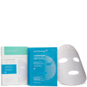 Patchology FlashMasque Hydrate Facial Masque (4 Pack)