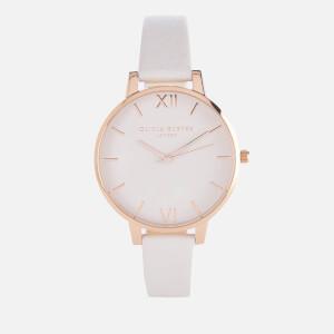 Olivia Burton Women's Big Dial Blush and Rose Gold Watch - Rose Gold