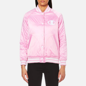 Champion Women's Bomber Jacket - Pink