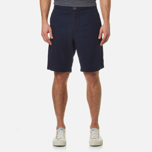 Oliver Spencer Men's Drawstring Shorts - Kildale Indigo Rinse