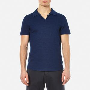 Oliver Spencer Men's Hawthorn Polo Shirt - Kobe Indigo