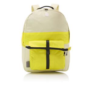 Folk Men's Backpack - Soft Lemon