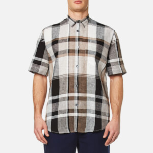 Our Legacy Men's Initial Short Sleeve Shirt - Line Check