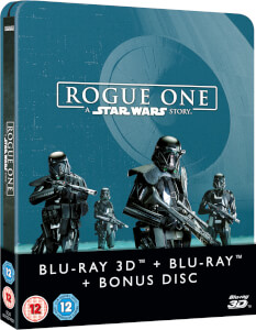 Rogue One: A Star Wars Story 3D (Inclusief 2D versie) - Zavvi UK Exclusive Limited Edition Steelbook