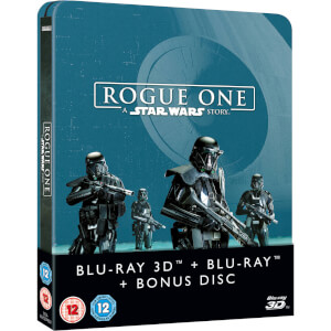 Rogue One: A Star Wars Story 3D (Includes 2D Version) Zavvi Exclusive Limited Edition Steelbook
