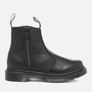 Dr. Martens Women's 2976 Aunt Sally Leather Zip Chelsea Boots - Black