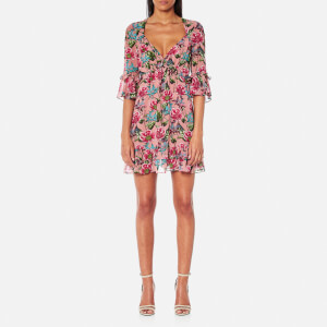 For Love & Lemons Women's Churro Mini Dress - Pink Flamenco