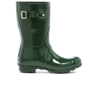 Hunter Women's Original Short Gloss Wellies - Hunter Green