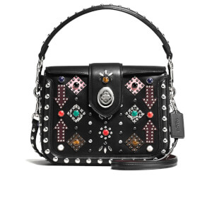 Coach Women's Page Cross Body Bag - Black/Multi