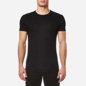 Paul Smith Men's Crew Neck Cotton T-Shirt - Black