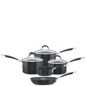 Circulon Momentum Hard Anodized 5 Piece Pan Set