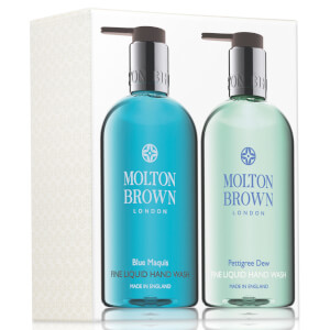 Molton Brown Blue Maquis & Pettigree Dew Hand Wash Set