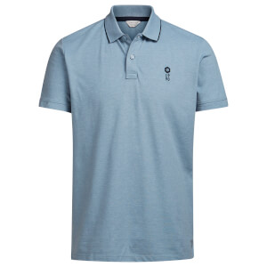 Jack & Jones Men's Core Stone Polo Shirt - Light Blue