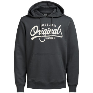 Sweat à Capuche Homme Originals Diego Jack & Jones - Gris Foncé