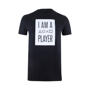 T-Shirt PlayStation I Am A Player - Noir