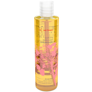 Red Flower Japanese Peony Purifying Body Wash