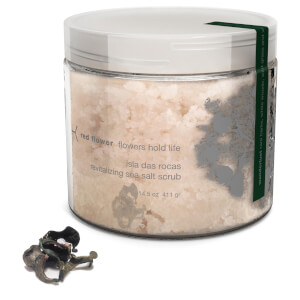 Red Flower Wanderlust Isla Das Rocas Revitalizing Sea Salt Scrub