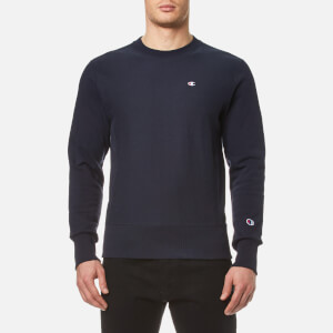 Champion Men's Crew Neck Sweatshirt - Navy
