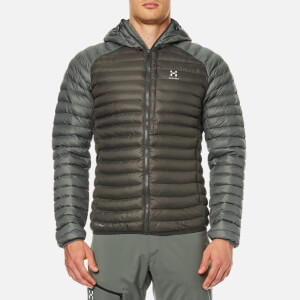 Haglöfs Men's Essens Mimic Hooded Jacket - Beluga/Lite Beluga