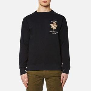 Maharishi Men's Integrated Crew Sweatshirt - Black