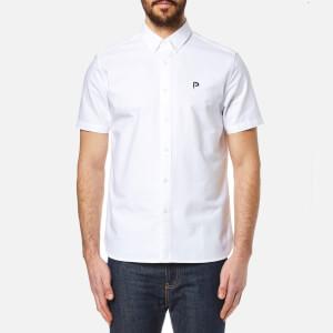 Penfield Men's Danube Short Sleeve Shirt - White
