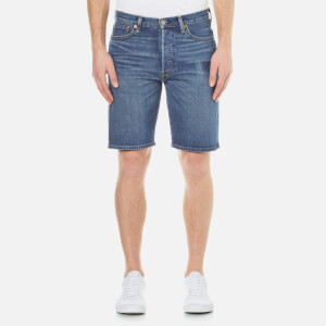 Levi's Men's 501 Hemmed Short Jeans - Winner