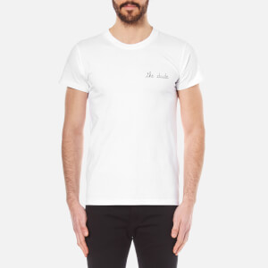 Maison Labiche Men's The Dude Heavy T-Shirt - White