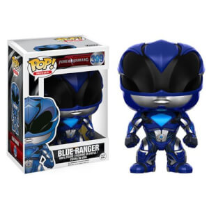 Power Rangers Movie Blauer Ranger Pop! Vinyl Figur