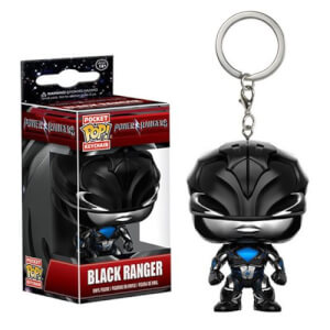 Power Rangers Movie Schwarzer Ranger Pocket Pop! Schlüsselanhänger