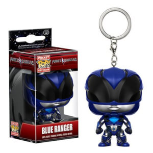 Power Rangers Movie Blauer Ranger Pocket Pop! Schlüsselanhänger