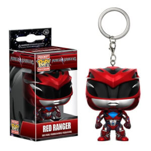Power Rangers Movie Red Ranger Pocket Funko Pop! Keychain