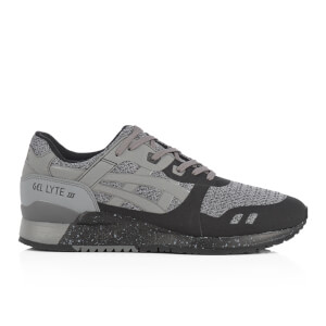 Asics Men's Gel-Lyte III Ns Mesh Trainers - Black/Carbon
