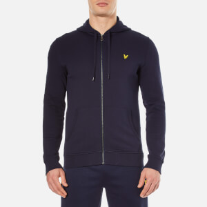 Lyle & Scott Men's Zip Through Hoody - Navy