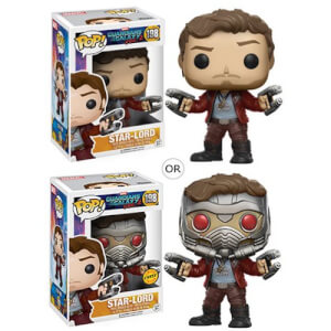 Guardians of the Galaxy Vol. 2 Star-Lord Funko Pop! Figuur (Kans op Chase)