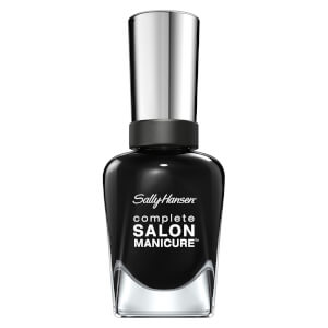 Sally Hansen Complete Salon Manicure 3.0 Keratin Strong Nail Polish - Hooked on Onyx 14.7ml