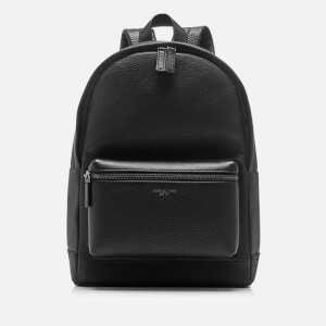 Michael Kors Men's Bryant Leather Backpack - Black