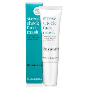 this works Stress Check Face Mask -kasvonaamio 50ml