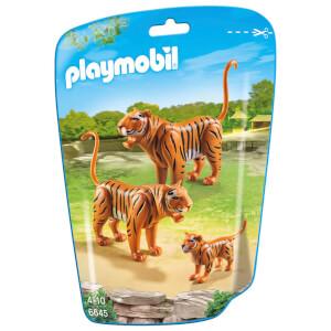 Couple de tigres avec bébé -Playmobil (6645)
