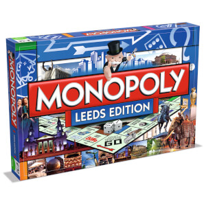 Monopoly Board Game - Leeds Edition
