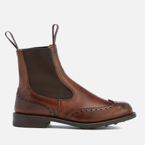 Knutsford by Tricker's Women's Silvia Leather Chelsea Boots - Chestnut Burnished
