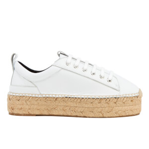 McQ Alexander McQueen Women's Sade Runner Leather Trainers - White