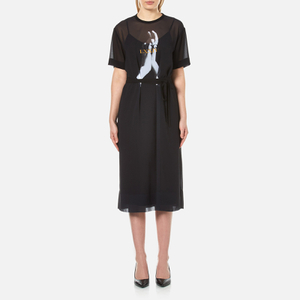 McQ Alexander McQueen Women's T-Shirt Dress - Black